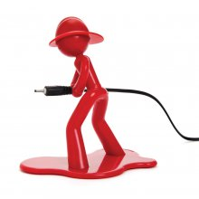 Charging Charlie red