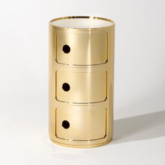 Container Componibili 3 round gold