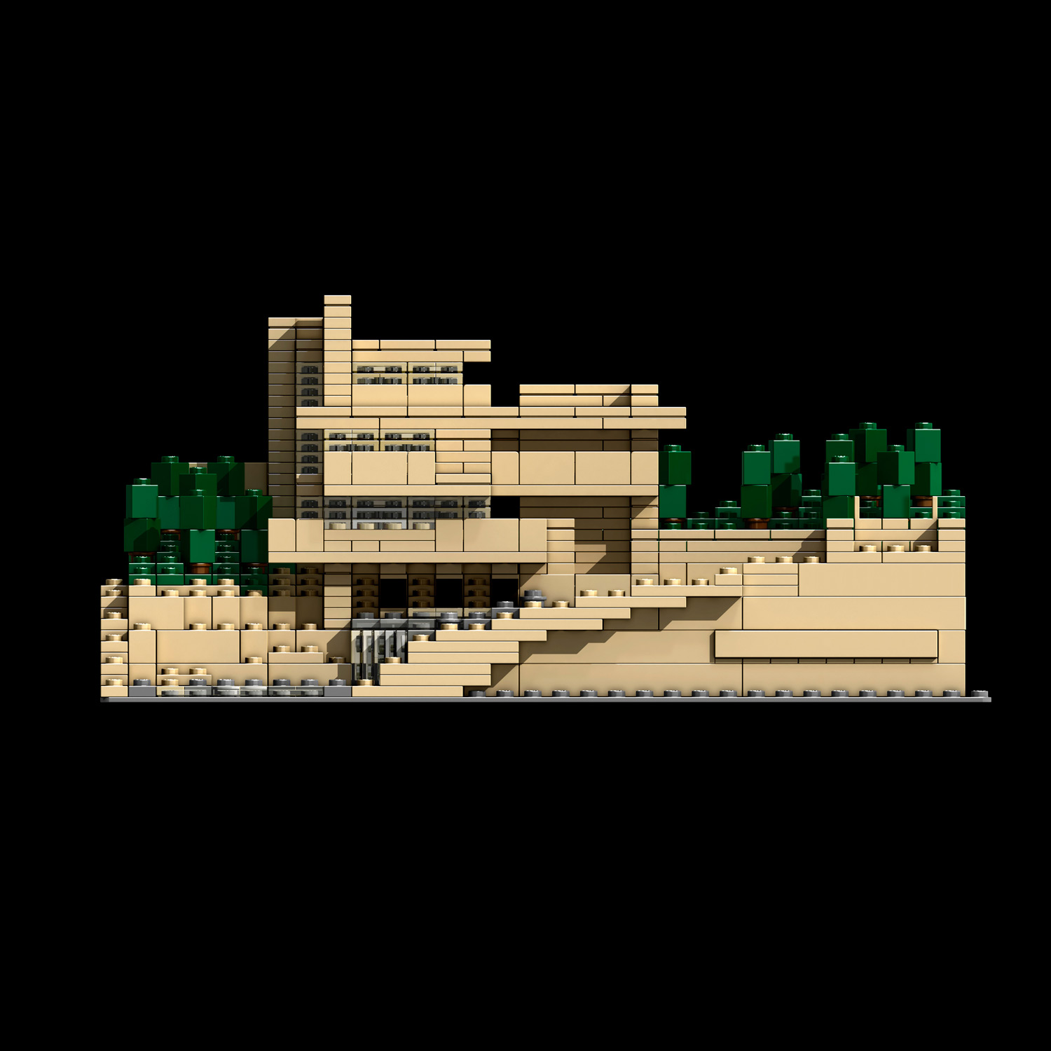 Games quartets - Falling waters lego ...