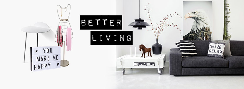 Design gift shop for Living 3000 shop