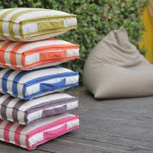 Mattress Cushion Outdoor Classic Stripes