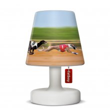 Lampshade Cooper Cappie Doggie Race