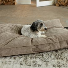 Dog Cushion Classic Uni tobacco