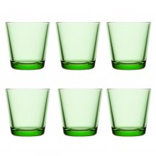 Kartio Glass 6 pcs. apple green