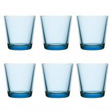 Kartio Glass 6 pcs. light blue