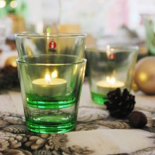 Kartio Glass 2 pcs. apple green