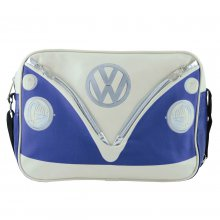 Shoulder Bag VW Bus blue/beige