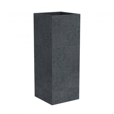 Scheurich Planter CCube High 240 Stony Black