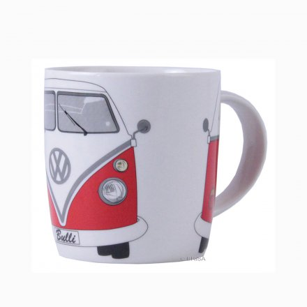 Coffee Mug VW Bus red