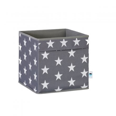 Store.It Storage Box with 2 Folded Grips Stars gray