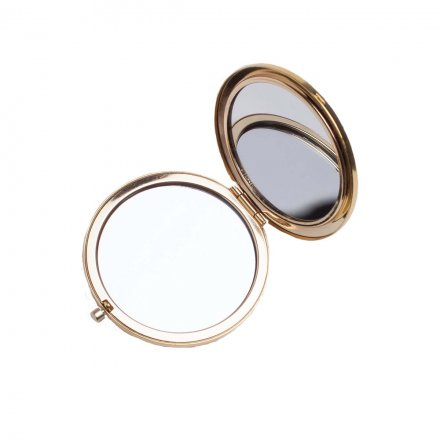 Compact Mirror gold