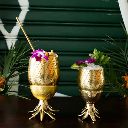 Pineapple Tumbler 350ml gold