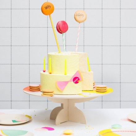 Stand for Cake Plate Bamboo