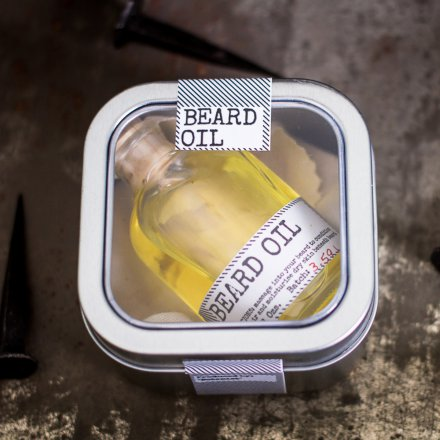 Beard Oil with Facecloth