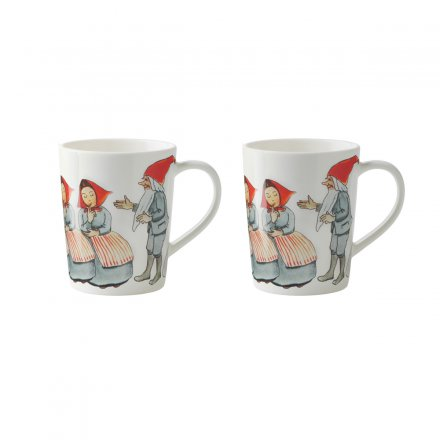 Design House Stockholm Elsa Beskow Mulled Wine Mugs 10cl Set of 2
