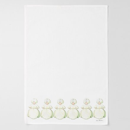 Design House Stockholm Elsa Beskow Kitchen Towel 45x65cm Mrs. Cabbage