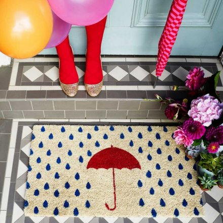 Bombay Duck Doormat Rainy Day