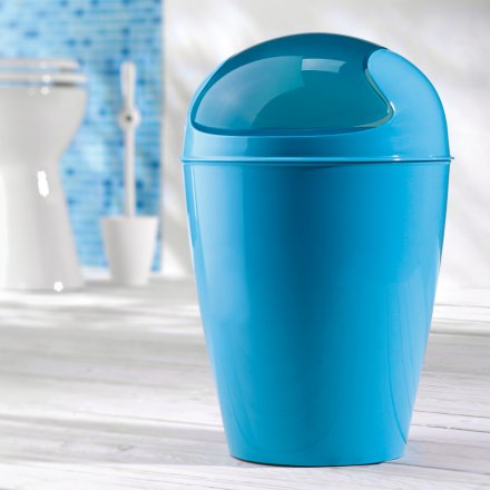 Koziol Swing Top Wastebasket Del M