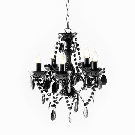 roomproducts Chandelier Arte S black