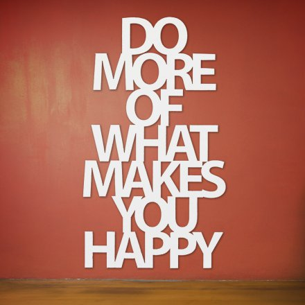 Westpaket Quotation Do more of what makes you happy
