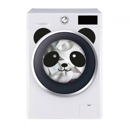 Formart Washing Machine Stickers Panda