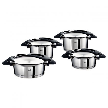 Fissler intensa 4-piece Pot Set black