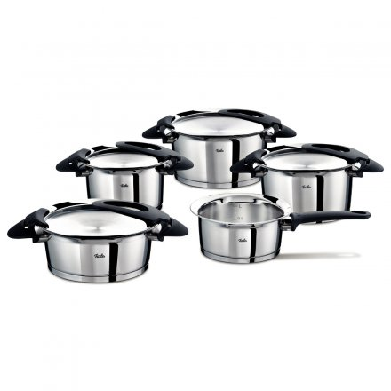 Fissler intensa 5-piece Pot Set black