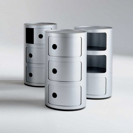 Kartell Container Componibili 3 round