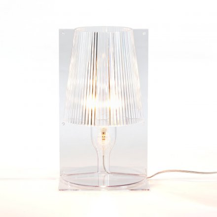 Kartell Table Lamp Take crystal clear