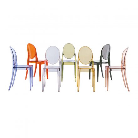 Kartell Chair Victoria Ghost Set of 2
