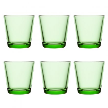 iittala Kartio Glass 6 pcs. apple green
