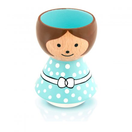 Bordfolk Eggcup Girl mint green