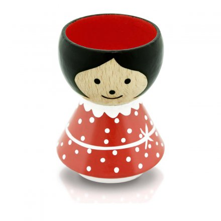 Bordfolk Eggcup Girl red