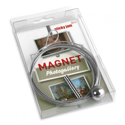 Sticky Jam Magnet Wire silver