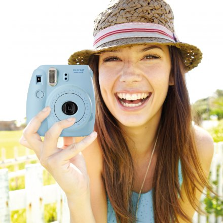 Fujifilm Instant Camera Instax Mini 8 blue