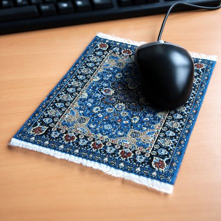 Mousepad Persian Rug blue