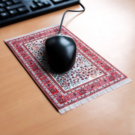 Orient&Ornament Mousepad Persian Rug red