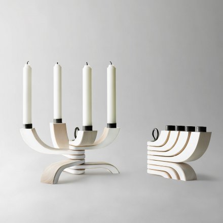 Design House Stockholm Candleholder Nordic Light 4 arms