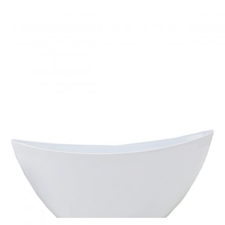 Scheurich Planter Wave 230 Bright White