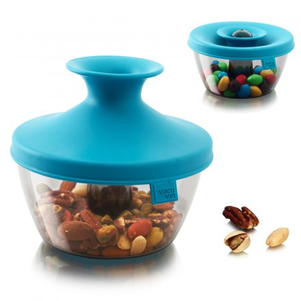 Vacu Vin Candy & Nut Dispenser PopSome blue