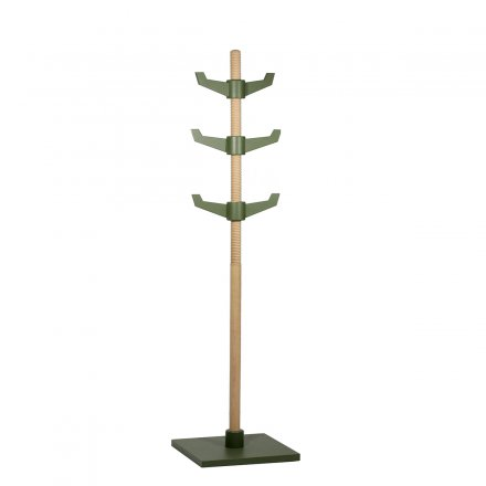 Puik-Art Coat Rack Maple green