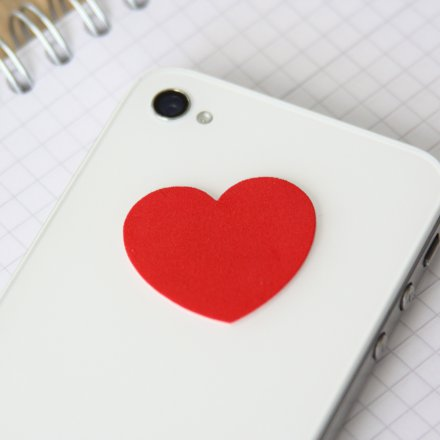 Sinnwert Smartphone Cleaning Pad Heart