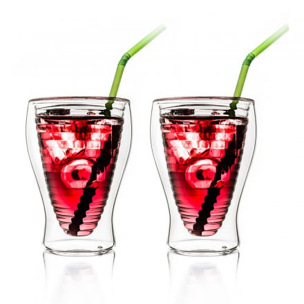 Thermo-Glass Set of 2 double-walled 200 ml