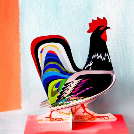 studio ROOF Pop Out Card Rooster