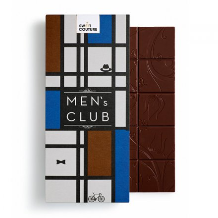 Fine Dark Chocolate Men`s Club