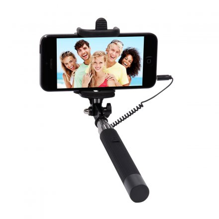 Thumbs Up Selfie Telescopic Click Stick