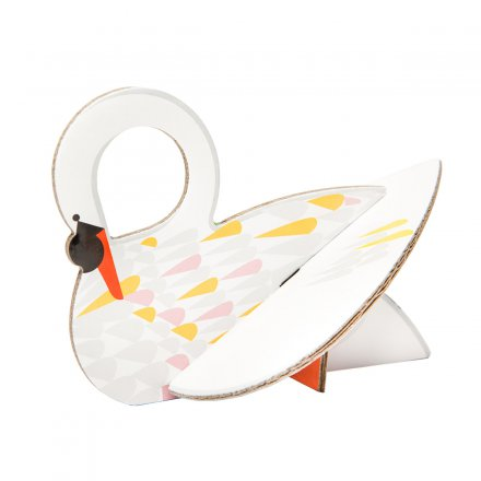 studio ROOF Pop Out Card Swan