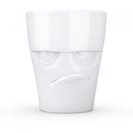 Fiftyeight Coffee Mug Facial Motif Grumpy