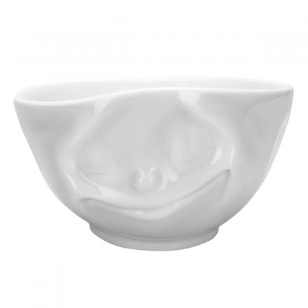 Fiftyeight Latte Cup with Facial Motif Happy Cup
