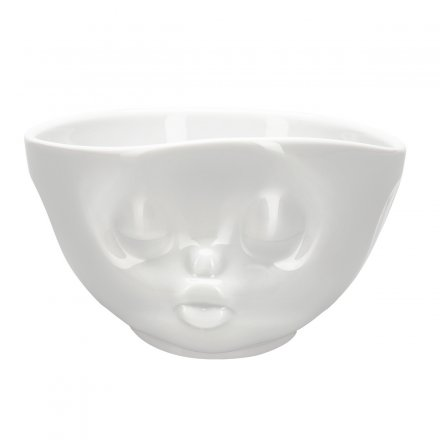 Fiftyeight Latte Cup with Facial Motif Kissing Cup